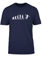 Handball Evolution T Shirt Lustiges Shirt Fur Handballfans