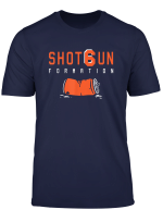 Shotgun Formation Cleveland T Shirt