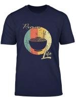 Ramen Life Tshirt Kawaii Bowl Miso Japanische Nudeln Shirt