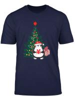 Fanny Cute Weihnachtesgeschenk Weihnachtes Pinguin Fur Girls T Shirt