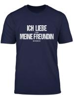 Herren Ich Liebe Es Wenn Meine Freundin Mich Zocken Lasst Gamer T Shirt