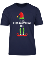 Bird Watching Elf Group Family Matching Christmas Gift T Shirt