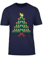 Sexy Stiletto High Heel Schuh Konigin Girly Weihnachtsbaum T Shirt