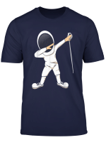 Funny Dabbing Fencing Sports T Shirt For Men And Women Mm