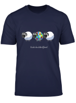 It S Ok To Be A Little Different Sheep Vintage Autism T Shirt