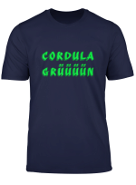 Cordula In Grun Fan T Shirt Tanzen Modern Geschenk Karneval