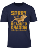 Bearded Dragon T Shirt My Bearded Dragon Ate My Homework Tee