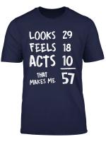 57 Year Old Birthday T Shirt