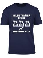 Lustiges Welsh Terrier T Shirt Hund Geschenk Hundehalter
