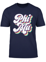 Phi Mu Vintage Sorority Greek T Shirt