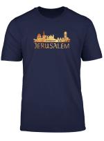 Jerusalem Skyline Silhouette Souvenir T Shirt