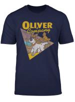 Disney Oliver Company Graphic T Shirt