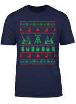 Merry Fracking Christmas Oilfield Oil And Gas Noel Funny T Shirt