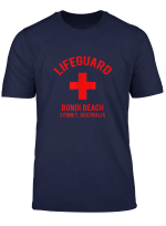 Lifeguard Bondi Beach Sydney Australia Beach T Shirt