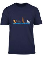 Katzen Yoga T Shirt Fur Katzenliebhaber Geschenkidee