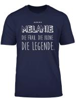 Melanie T Shirt Lustige Geschenk Idee