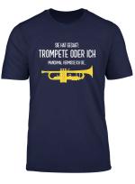 Herren Lustiges Trompete T Shirt Sie Hat Gesagt Blasmusik Geschenk
