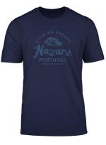 Portugal Nazare Surfing Vintage Portuguese T Shirt