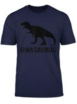Omasaurus Rex Dinosaurier Geschenk Fur Oma T Shirt