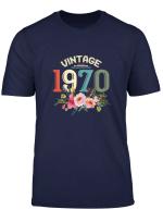 Womens 49Th Birthday Gift Vintage 1970 Classic Women Gifts T Shirt