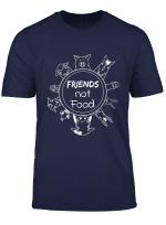 Love Animal Rights Vegan Vegetarian T Shirt I Cool Gift