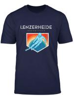 Lenzerheide Graubunden Schweiz Retro 80S Ski Geschenk T Shirt