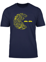 Arcade Und Videospiel Fahrrad Frisst Pkw Auto T Shirt T Shirt