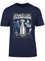 Stanley St Louis Cup Blues Champions 2019 Sports Bleed Blue T Shirt