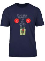 Womens You Should See My Box Naughty Dirty Adult Humor Christmas T Shirt