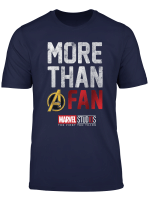 Marvel More Than A Fan Movie List Back T Shirt