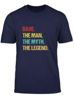 Mens Dave Name Gift T Shirt