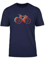 Retro Fahrrad Rennrad T Shirt Vintage Bike Geschenk