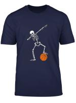 Basketball Dabbing Skelett Basketballer Hobby Sport T Shirt