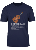 Funny Guitar Double Bass Definition Guitarist Gifts T Shirt