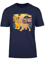 Disney The Lion King Young Simba Nala 90S T Shirt