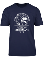 T Shirt Dobermann Schutzengel Hund Hunde Shirt Geschenk Fun
