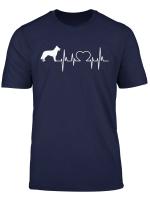 Weisser Schaferhund Tshirt Fur Frauen Manner Kinder