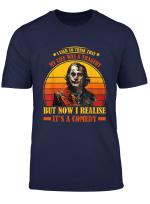 Clown Joker Think Life Tragedy Comedy T Shirt