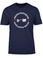 England And Wales Cricket Supporter T Shirt