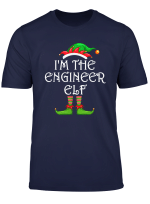 I M The Engineer Elf Shirt Matching Family Group Christmas T Shirt