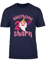 Kids Baby Shark T Shirt 2Nd Birthday For Girls Doo Doo Doo T Shirt