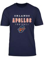 Vintage Orlando Football Apollos T Shirt For Fan