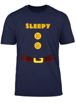 Sleepy Dwarf With Belly Olive Halloween Costume T Shirt