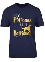 My Patronus Is A Golden Retriever Golden Retriever Shirt