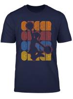 Retro Cheerleader Cheerleading T Shirt
