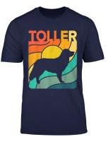 Nova Toller Vintage Retro Dog Mom Dad Gift T Shirt