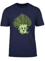 Little Baby Plant Vegan Vegetarian Kawaii Broccoli T Shirt