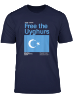 Stop China Free The Uyghurs T Shirt