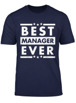 Vintage Best Manager Ever World S Greatest Manager T Shirt