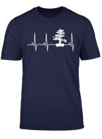 Bonsai Heartbeat T Shirt Shirt For Bonsai Lovers